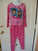 Vintage Bratz Kidz Pink 2PC Pajamas Size 10 Girl's EUC - $19.58