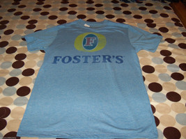 Foster's Light Blue Tshirt Size Small Men's New Last One - $19.20