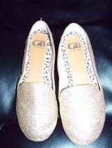 Gianni Bini Gold Sequin Slide Flats Shoes Size 8.5M Women's NWOB - $45.99