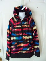 Fila Sport Kids Girls Wave Design Long Sleeve Hooded Pullover Jacket siz... - $33.99