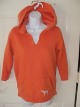 Victoria's Secret PINK Hoodie Orange Sweatshirt Size Small Women's  - $38.99