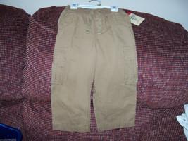 Osh Kosh B'gosh Brown Pant's Size 3T Boy's New Last One - $16.38