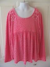 Justice Pink Animal Print Shirt Size 12 Girl's EUC - $17.80