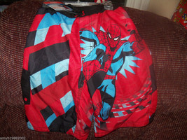 Disney Store Marvel Spiderman Swim Trunks Size 14 Boy's NEW LAST ONE  - $36.99