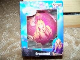 "3"" ball Hannah Montana Christmas ornament decoration in box NEW LAST ONE  - $34.99"