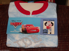 Disney's Cars Slide Ride Sleeper Size 24 months BOY'S NEW LAST ONE  - $35.99