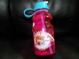 Zak Designs Disney's Pink Frozen Tritan Water Bottle 14-Ounce NEW  - $31.99