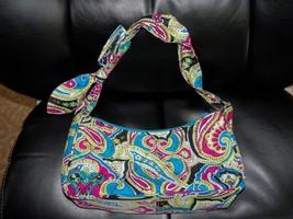 Pasiley Print Hand Bag  EUC - ₹1,376.19 INR