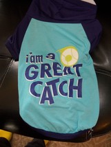 GREAT CHOICE I'M A GREAT CATCH BLUE DOG SHIRT SIZE L NWOT - $19.75