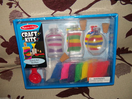 Melissa & Doug Craft Kits Sand Art Bottles Set NEW - $20.00