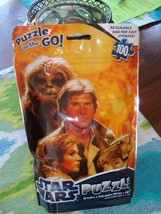 Star Wars Puzzle New Resealable Bag 100 pieces 15 x 11.25 NEW LAST ONE  - $23.99