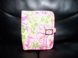 Vera Bradley Petal Pink Fold Over Wallet Card Id Holder NWOT - $20.70