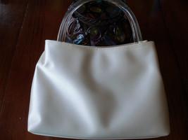 Liz Claiborne Cream Color Purse EUC - $19.50
