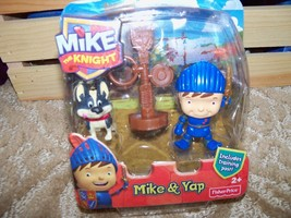 Fisher Price Mike The Knight Mike & Yap #Y8357 NEW LAST ONE  - $22.99