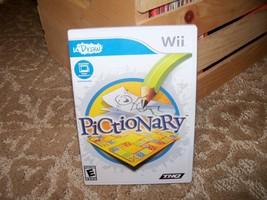 Pictionary  (Nintendo Wii, 2010) EUC - $34.99