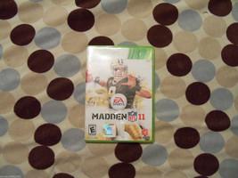 Madden NFL 11 (Xbox 360, 2010)  - $44.99