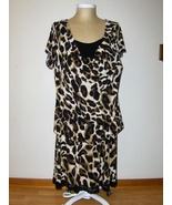 Grace Elements Woman Skirt Set Animal Print 3X Top and 2X Skirt - $34.97