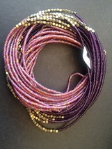 "NWT EDDIE BAUER boho Multi strand Beaded Necklace. 35 1/2"" - $29.69"