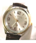 """M14, U.S. Polo Assn, Mens Watch, Magnified Face w/ Gold Accents, 9"""" bad - $19.69"""