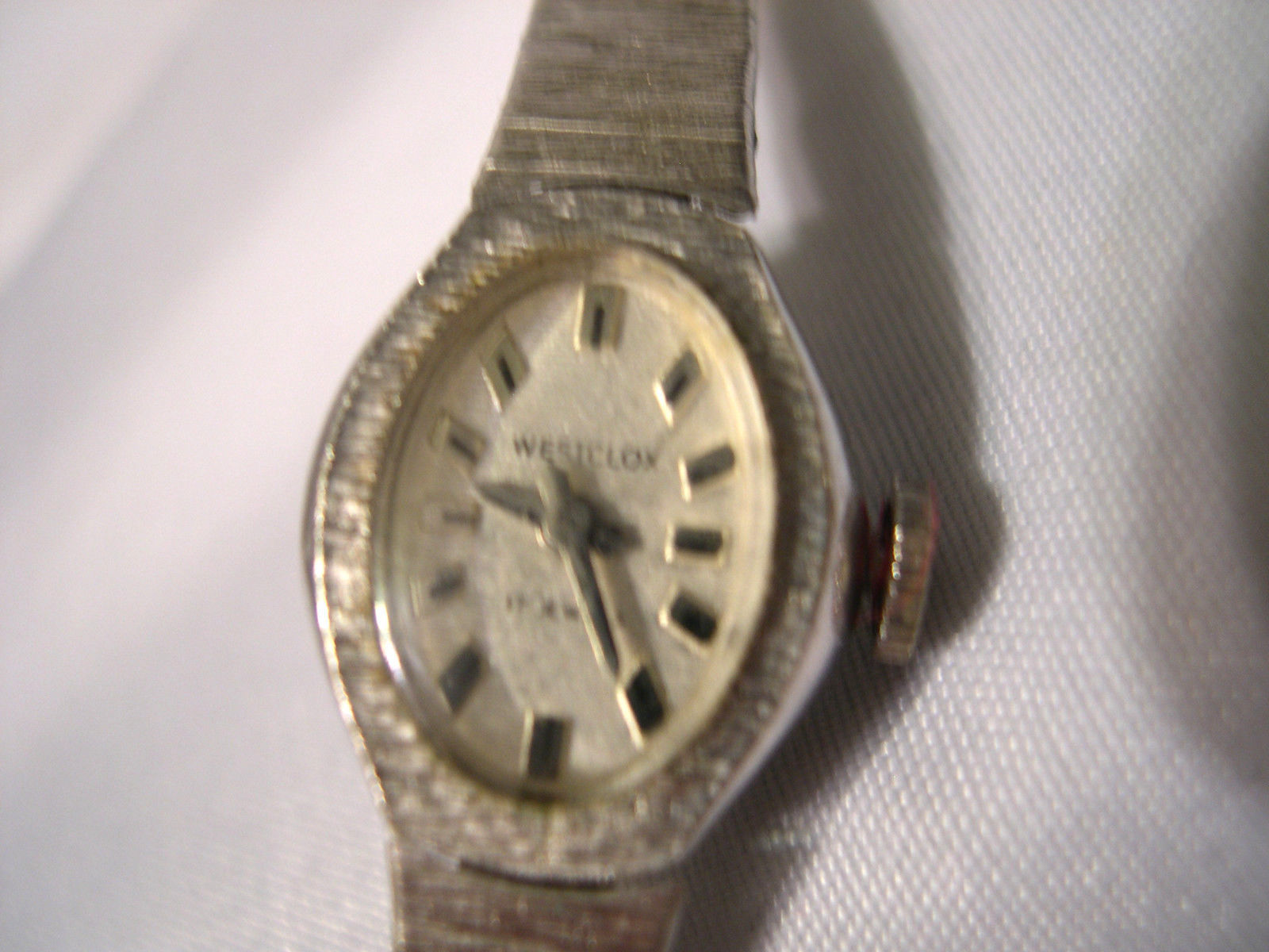 L27, Westclox, 17 Jewel Ladies Watch, 10 R.G.P. Kestenmade Silver Band, Vintage