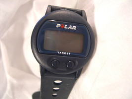"M03, Polar Electro Mens Sports Watch, 9.5"" Silicon Band - $9.79"