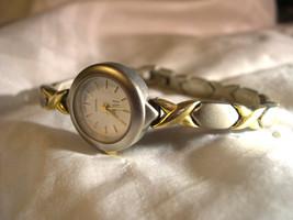 L38, VIVANI by Accutime, Ladies Watch, White Faced,  Bracelet w/b - $15.83