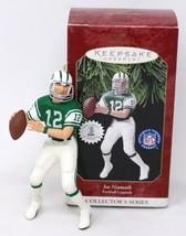 Hallmark Keepsake Christmas Tree Ornament JOE NAMETH 1997 Football Player - $8.59