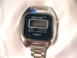 L08, Delphi, Digital Alarm Chrono Watch, multi functional, Adj. Link Band - $15.87