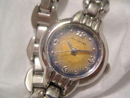 """L69, No Boundaries Ladies Wristwatch, 7.5"""" Silver Tone Bracelet, wb - $13.85"""