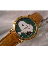 "C08, Snoopy By Armitron, Mens Vintage1958 Watch, 8.5"" Leather Band, 900/... - $126.71"