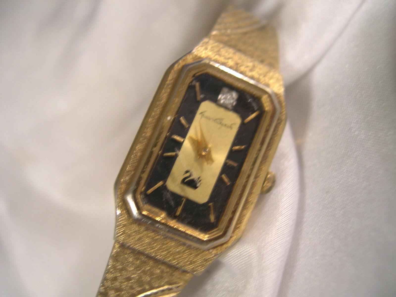 L33 Gloria Vanderbilt Ladies 8 Quot Dress Watch Vintage