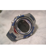 """L33, 1440 Sports by Timex, Blue Gray 8.5"""" Silicon Band, Multi Functional, 50m WR - $19.83"""