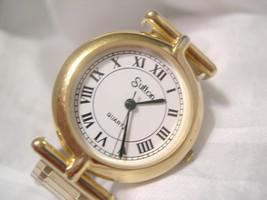 "L66, Sutton, Ladies Watch, White Face, 6"" Gold Tone Flex Band, 2030 069064, w/b - $29.69"