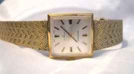 "L13, Waltham, Ladies 8"" Mesh Band Watch, mechanical wind, 17 Jewels Swiss - $29.69"