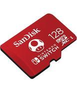 SanDisk 128GB MicroSDXC Card UHS-I U3 up to 100MB/s for Nintendo Switch - $35.95 - $39.99