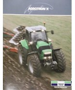 2008 Deutz-Fahr Agrotron X710, X720 Tractors Brochure - $8.00
