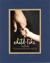 For Inspiration - Child Like Nature . . . 8 x 10 Inches Biblical/Religious Ve... - $10.39
