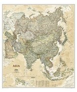 Asia National Geographic Wall Map (Executive-Laminated) - $29.99