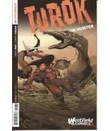 Dynamite Turok Dinosaur Hunter #1 Westfield Comics Roberto Castro Varian... - $11.95