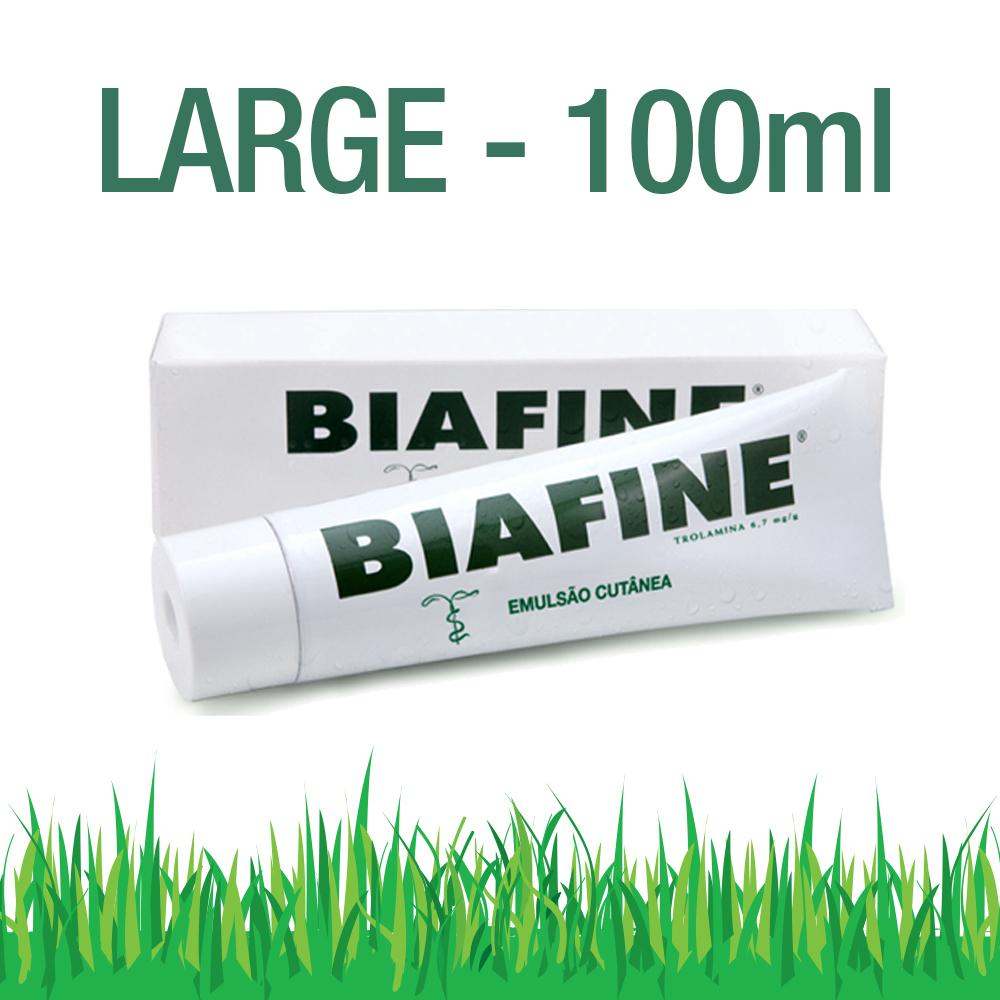 Biafine 100ml Tromaline Emulsion Cream Large Tube Sunburn Burn