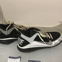 Autographed/Signed YONDER ALONSO 2012 Game Used Pair Cleats Shoes PSA/DNA COA image 4