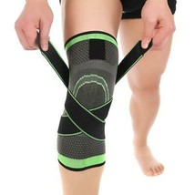 Drop Ship From USA Pressurized Fitness Running Cycling Bandage Knee Support Brac image 1