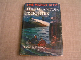 THE HARDY BOYS THE PHANTOM FREIGHTER -1947 FRANKLIN W. DIXON HC w/ DJ BOOK - $12.19