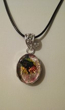 Dichroic Glass Necklace 7 - $10.99