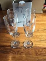 Oneida Simply Drinks 4 Champagne Flute 6 Oz - $22.44