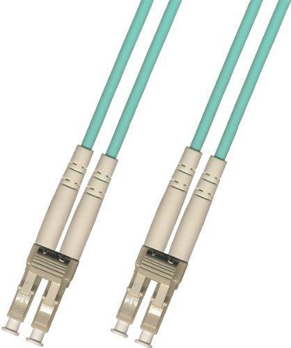 200M LC to LC Multimode Duplex 10 Gigabit 10gb Fiber Optic Cable (50/125) 200...