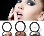Fashion  3 in 1 Eyeshadow Natural Smoky Cosmetic Eye Shadow Palette Set Makeup