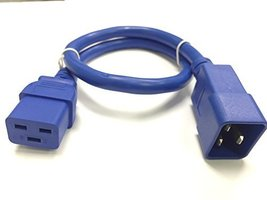 RiteAV - Heavy Duty Extension Power Cord, C19 TO C20, 12AWG, 20 AMPS , 250V (... - $39.00