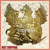 Brass FRONTPLATE German Pickelhaube Leder HELMET PRUSSIAN Egale Wappen B... - $40.00