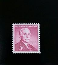 1955 3c Andrew W. Mellon, Secretary of the Treasury Scott 1072 Mint F/VF NH - $0.99